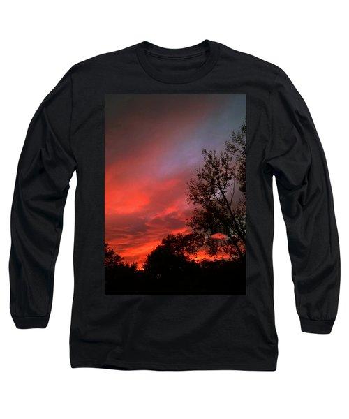 Twilight Fire Long Sleeve T-Shirt