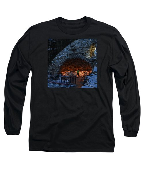Twilight Grotto Prayer Long Sleeve T-Shirt