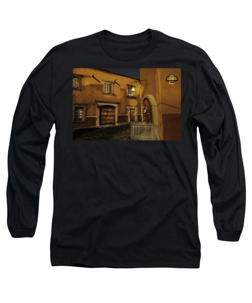 Twilight On The Corner Long Sleeve T-Shirt