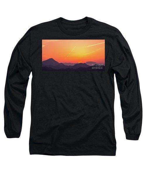 Long Sleeve T-Shirt featuring the photograph Twilight by Tatsuya Atarashi