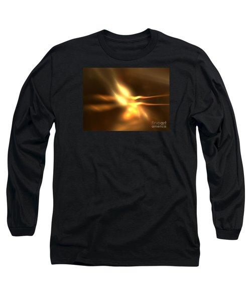 Twin Flame Long Sleeve T-Shirt by Kim Sy Ok