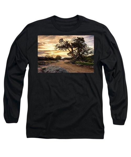 Twisted Sunset Long Sleeve T-Shirt