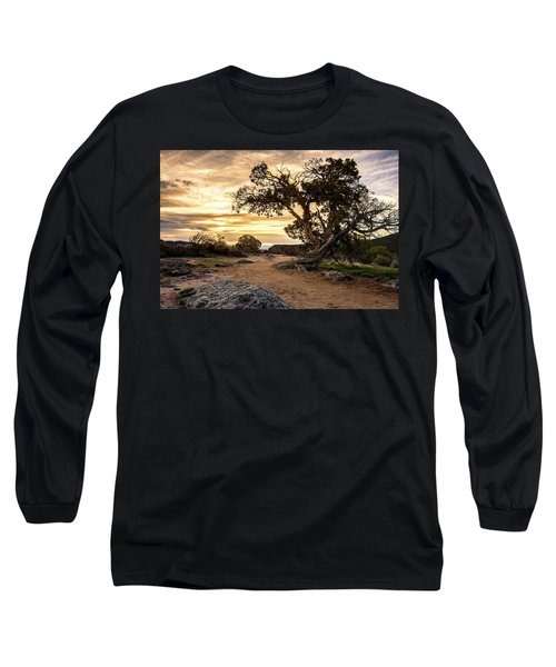 Twisted Sunset Long Sleeve T-Shirt
