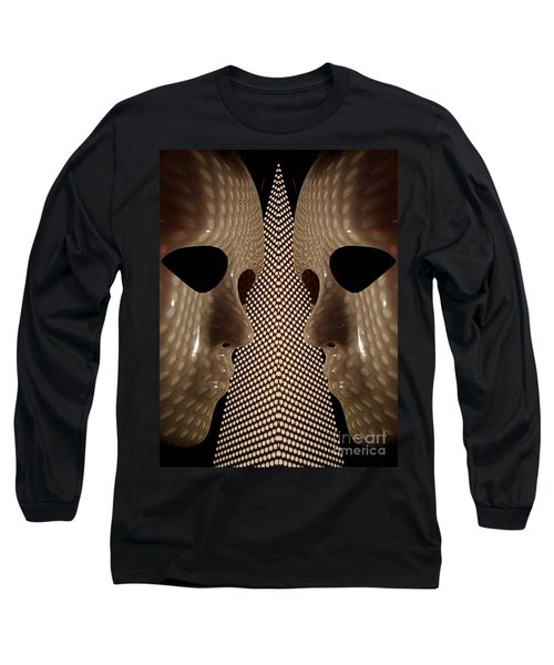 Long Sleeve T-Shirt featuring the photograph Two Faced by Trena Mara