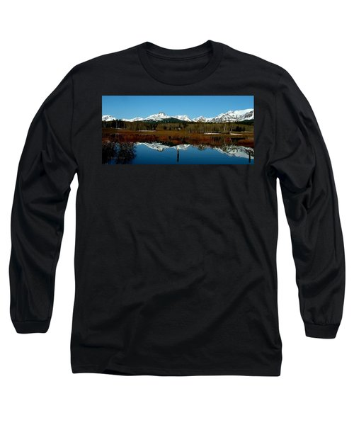 Two Med River Reflection Long Sleeve T-Shirt