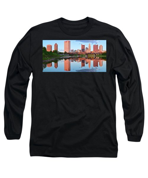 Long Sleeve T-Shirt featuring the photograph Two Of Everything by Frozen in Time Fine Art Photography