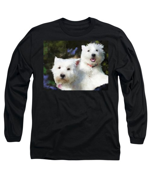 Two Westies Long Sleeve T-Shirt