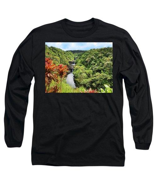 Umauma Falls Long Sleeve T-Shirt
