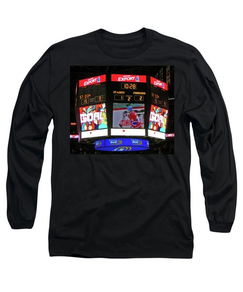 Un But De Saku Koivu ... Long Sleeve T-Shirt