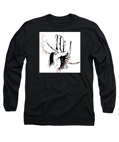 Unconditional Love Long Sleeve T-Shirt by Sladjana Lazarevic