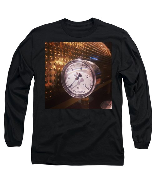 Under Pressure #coffee #cafe Long Sleeve T-Shirt