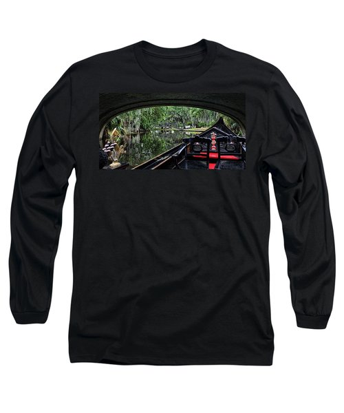 Under The Bridge Long Sleeve T-Shirt by Judy Vincent