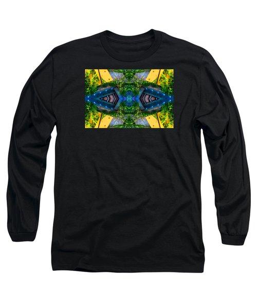 Under The Bridge N83v2 Long Sleeve T-Shirt by Raymond Kunst