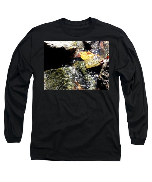 Long Sleeve T-Shirt featuring the photograph Under The Glass Of Water by Robert Knight