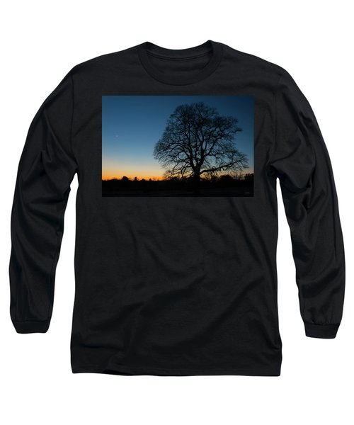 Long Sleeve T-Shirt featuring the photograph Under The New Moon by Dana Sohr