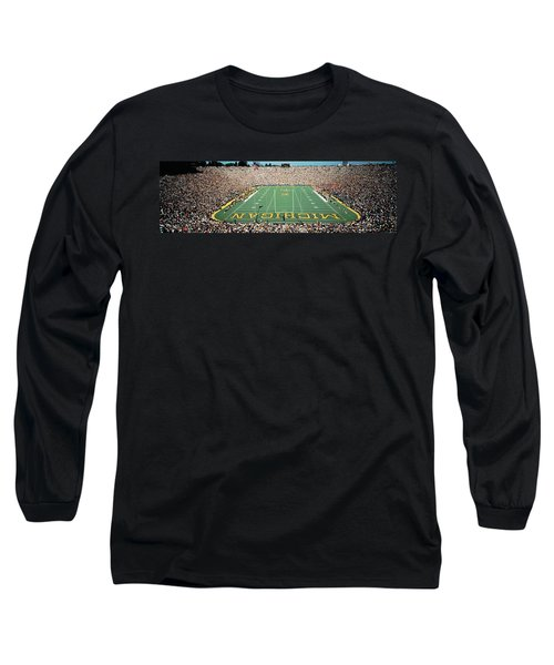 University Of Michigan Stadium, Ann Long Sleeve T-Shirt by Panoramic Images