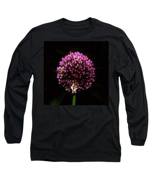 Unopened Allium Long Sleeve T-Shirt
