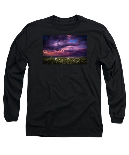 Unsettled Long Sleeve T-Shirt by Peter Scott