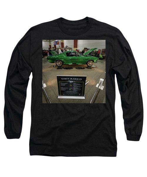 Long Sleeve T-Shirt featuring the photograph Untamed by Randy Scherkenbach