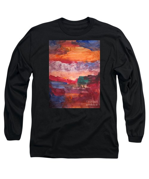 untitled 109 Original Painting Long Sleeve T-Shirt