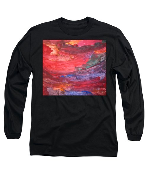 untitled 110 Original Painting Long Sleeve T-Shirt