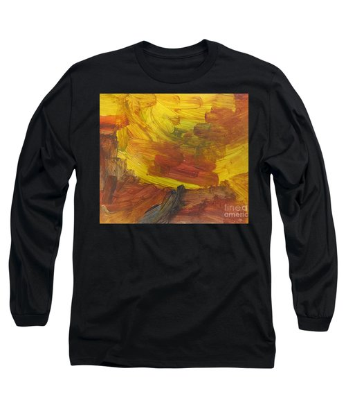 Untitled 117 Original Painting Long Sleeve T-Shirt