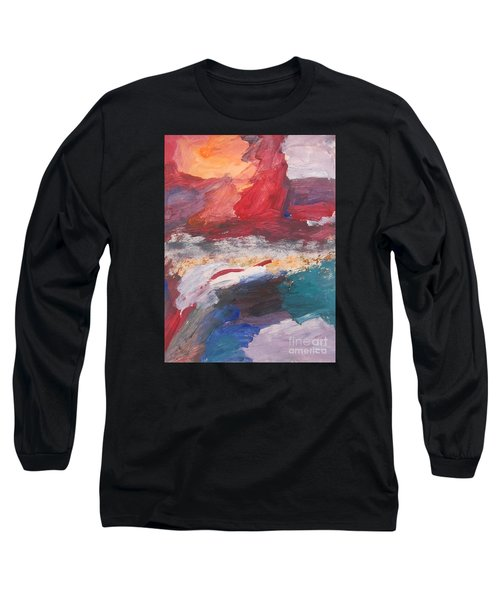Untitled 98 Original Painting Long Sleeve T-Shirt