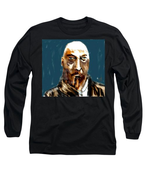 Long Sleeve T-Shirt featuring the painting Ivan by Jim Vance