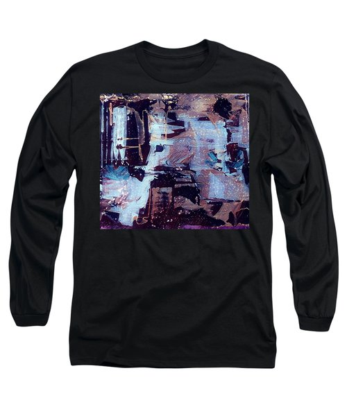 Long Sleeve T-Shirt featuring the painting Untitled by 'REA' Gallery