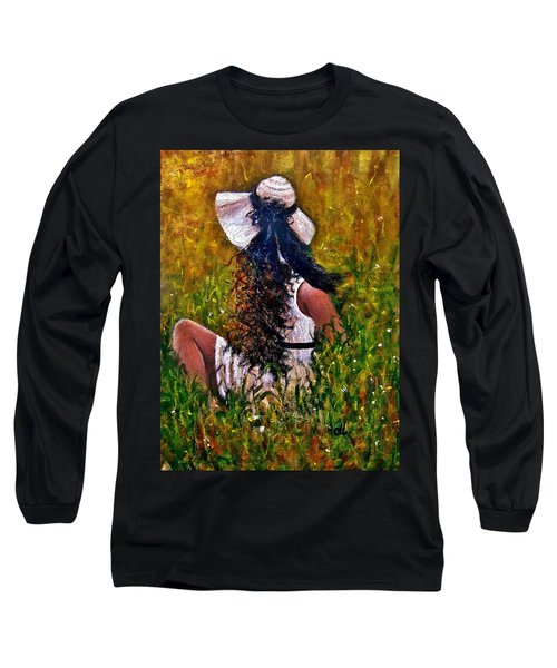 Untold Story.. Long Sleeve T-Shirt by Cristina Mihailescu
