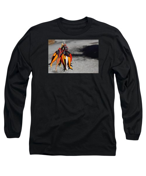 Long Sleeve T-Shirt featuring the photograph Unusual Catch by Richard Patmore