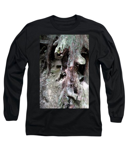 Unusual Tree Root Long Sleeve T-Shirt