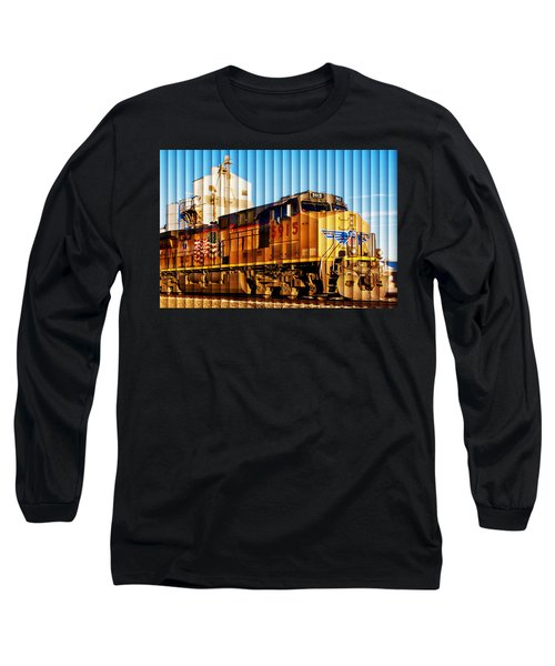 Up 5915 At Track Speed Long Sleeve T-Shirt by Bill Kesler