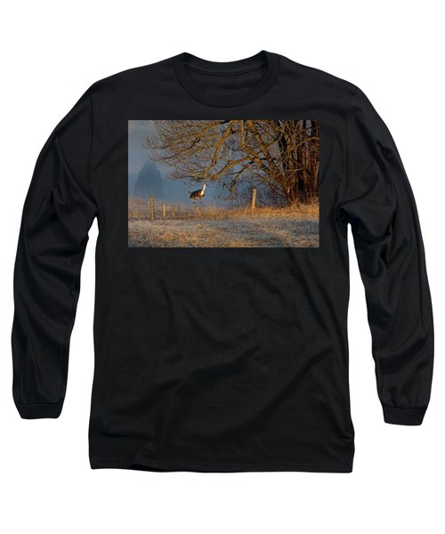 Up And Over Long Sleeve T-Shirt
