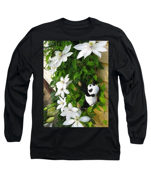 Long Sleeve T-Shirt featuring the photograph Up And Up And Up by Ausra Huntington nee Paulauskaite