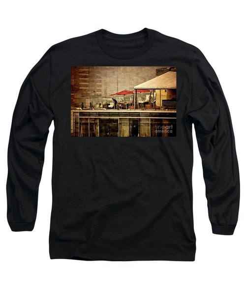 Long Sleeve T-Shirt featuring the photograph Up On The Roof - Miraflores Peru by Mary Machare