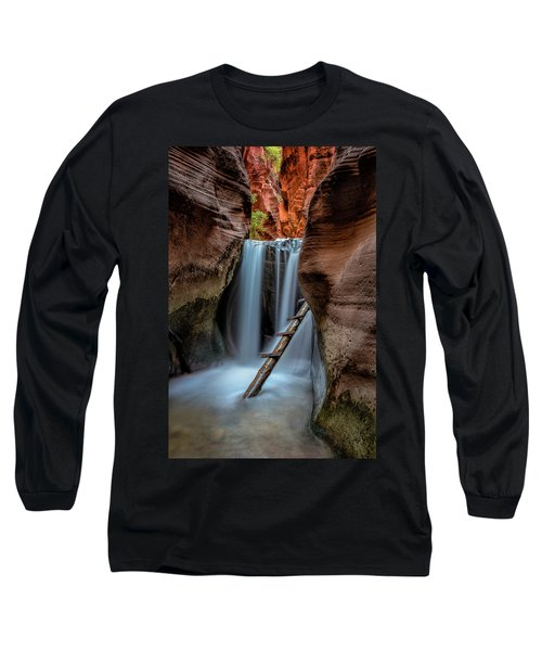 Upper Kanarraville Falls Long Sleeve T-Shirt