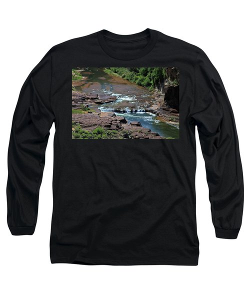 Upper Salt Long Sleeve T-Shirt by Gary Kaylor