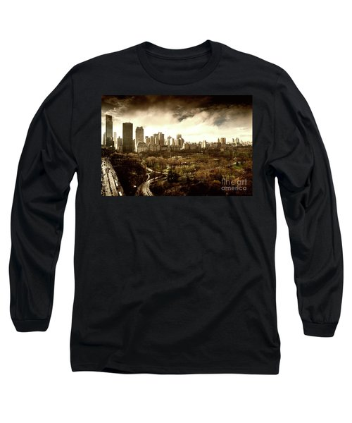 Upper West Side Of New York In Spring Long Sleeve T-Shirt