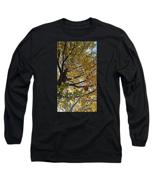 Upward Long Sleeve T-Shirt by Jana E Provenzano