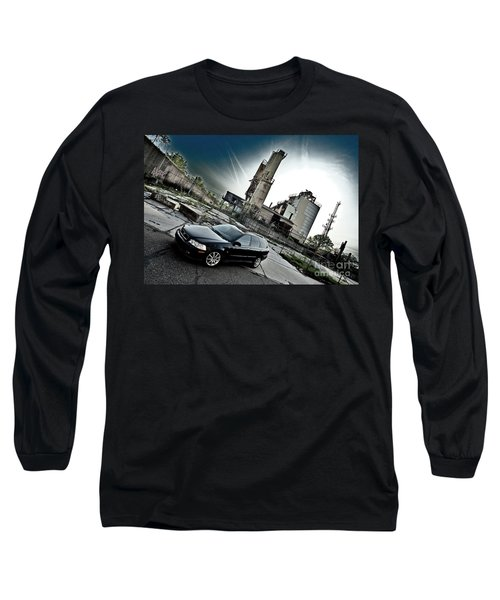 Urban Background Long Sleeve T-Shirt
