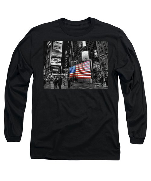 U.s. Armed Forces Times Square Recruiting Station Long Sleeve T-Shirt