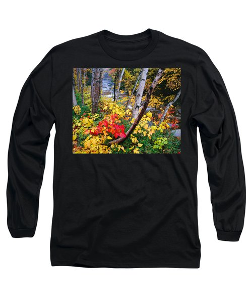 Usa, New Hampshire, White Mountains Long Sleeve T-Shirt