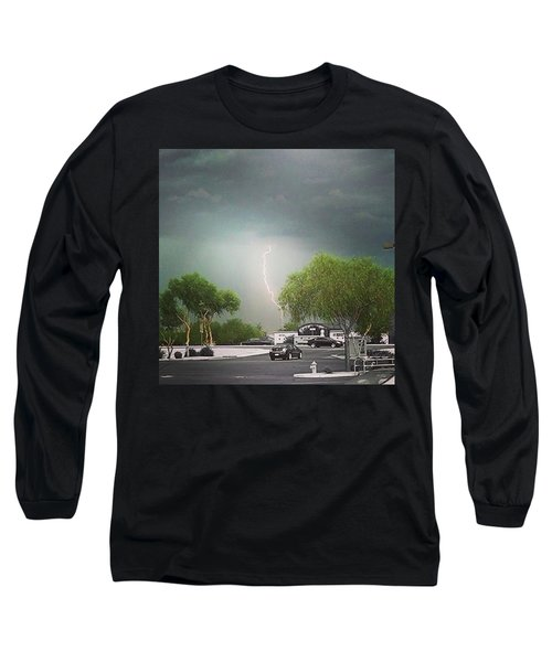 Lightning  Long Sleeve T-Shirt by Speedy Birdman
