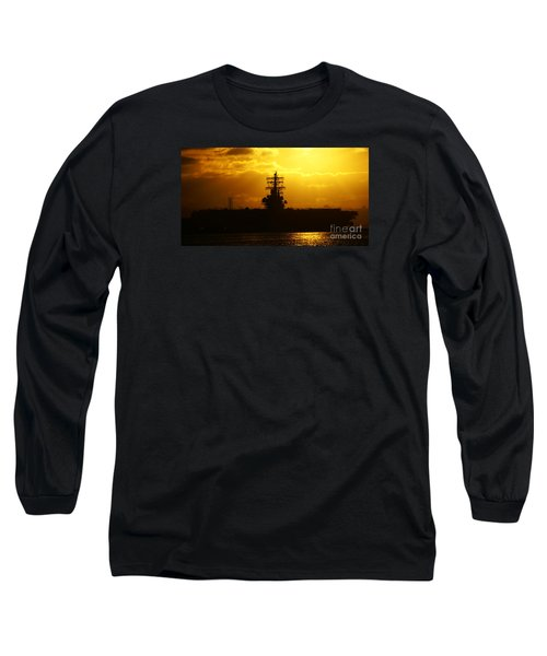 Uss Ronald Reagan Long Sleeve T-Shirt