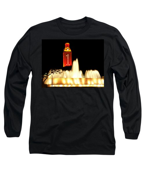 Ut Tower Championship Win Long Sleeve T-Shirt by Marilyn Hunt