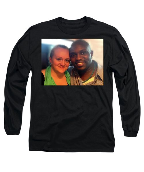 V And M Long Sleeve T-Shirt