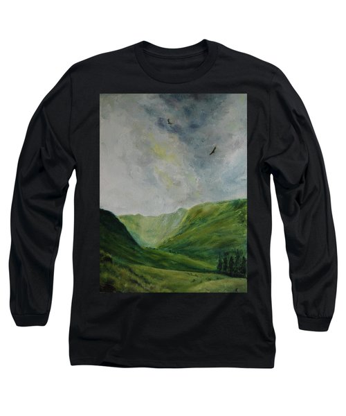 Valley Of Eagles Long Sleeve T-Shirt
