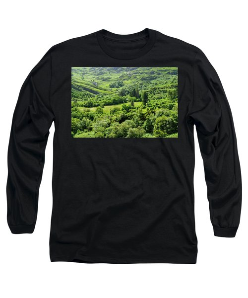 Valley Of Green Long Sleeve T-Shirt