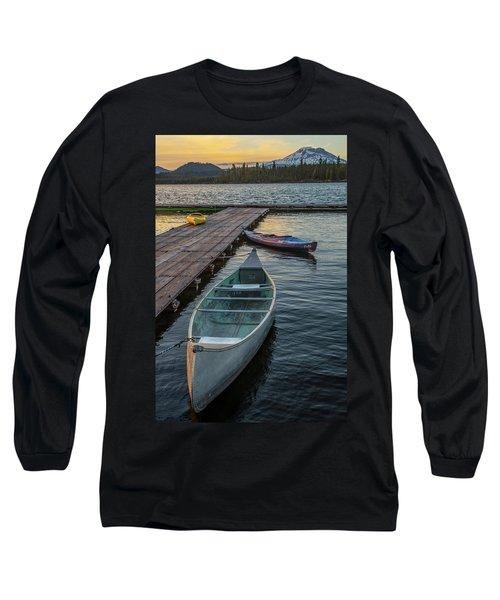 Variation On A Theme At Lava Lake Long Sleeve T-Shirt